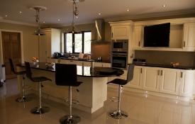 Raised panel Ivory Classic Kitchen Design
