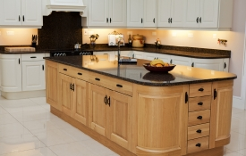 Solid Oak Raised Panel Kitchen